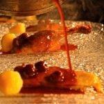 Anatra e ciliege