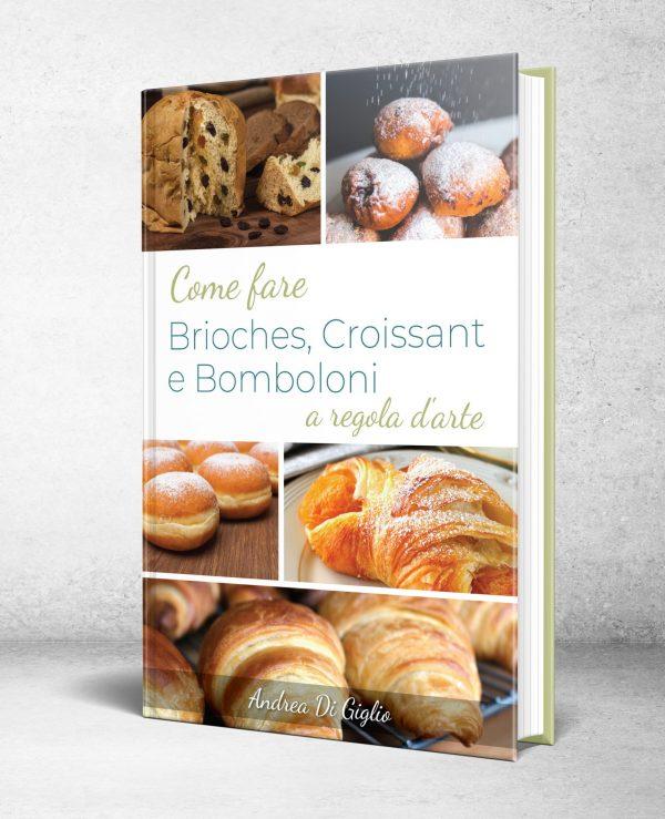 Brioches, croissant e bomboloni