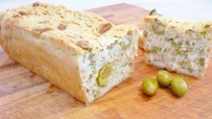 Pane alle olive con farina di riso