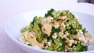 Broccoli raw food