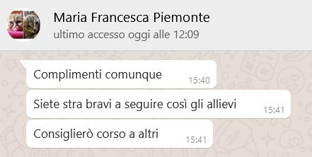 Recensione MARIA FRANCESCA PIEMONTE