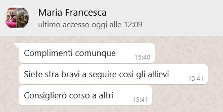 Recensione MARIA FRANCESCA