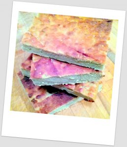 focaccia di quinoa
