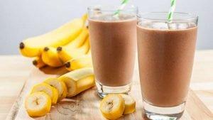 Frappe di Cioccolato e Banana