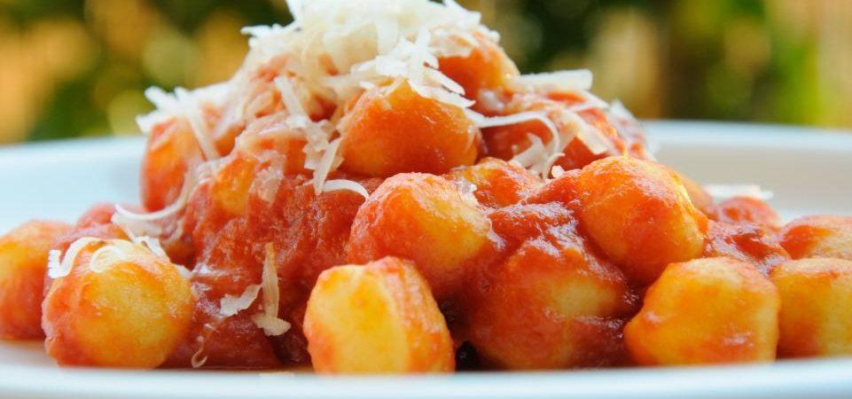 Gnocchi al pomodoro low carb