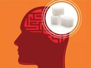 zucchero cervello
